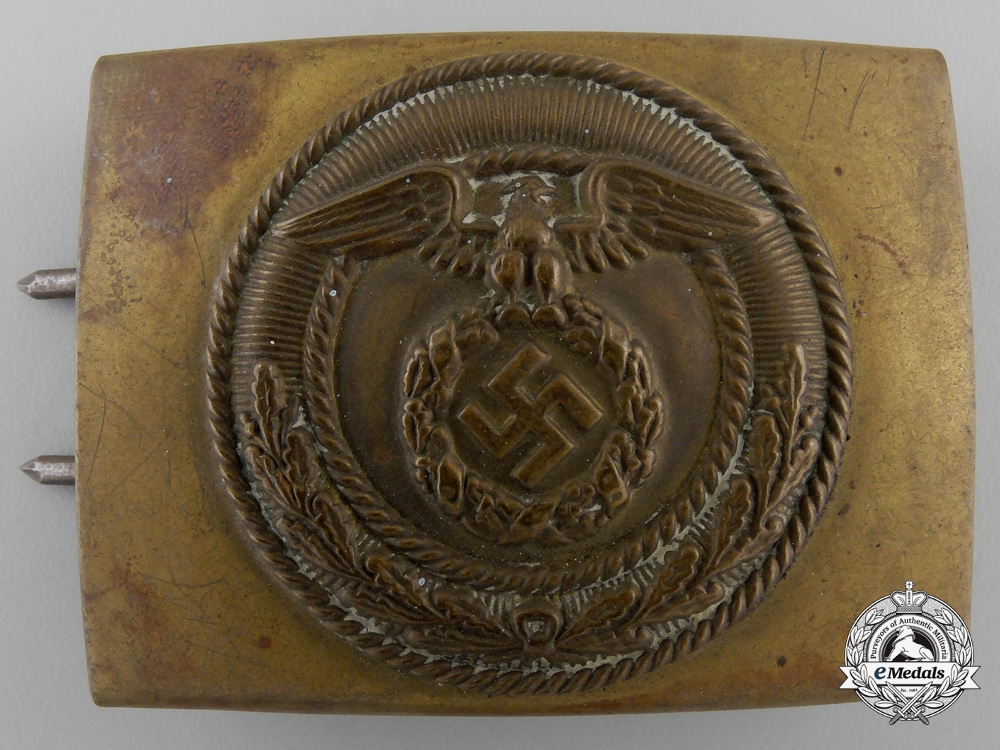 eMedals-An SA Enlisted Man's Belt Buckle
