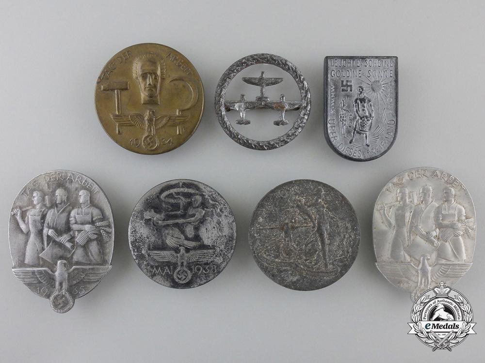 eMedals-Seven Second War Period German Tinnies