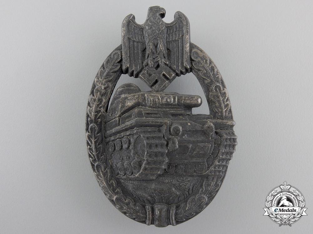 eMedals-A Tank Assault Badge; Silver Grade