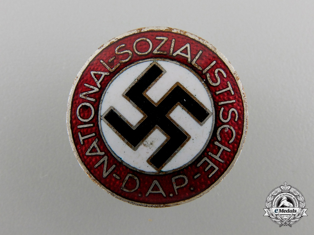 eMedals-An NSDAP Membership Badge by Werner Redo