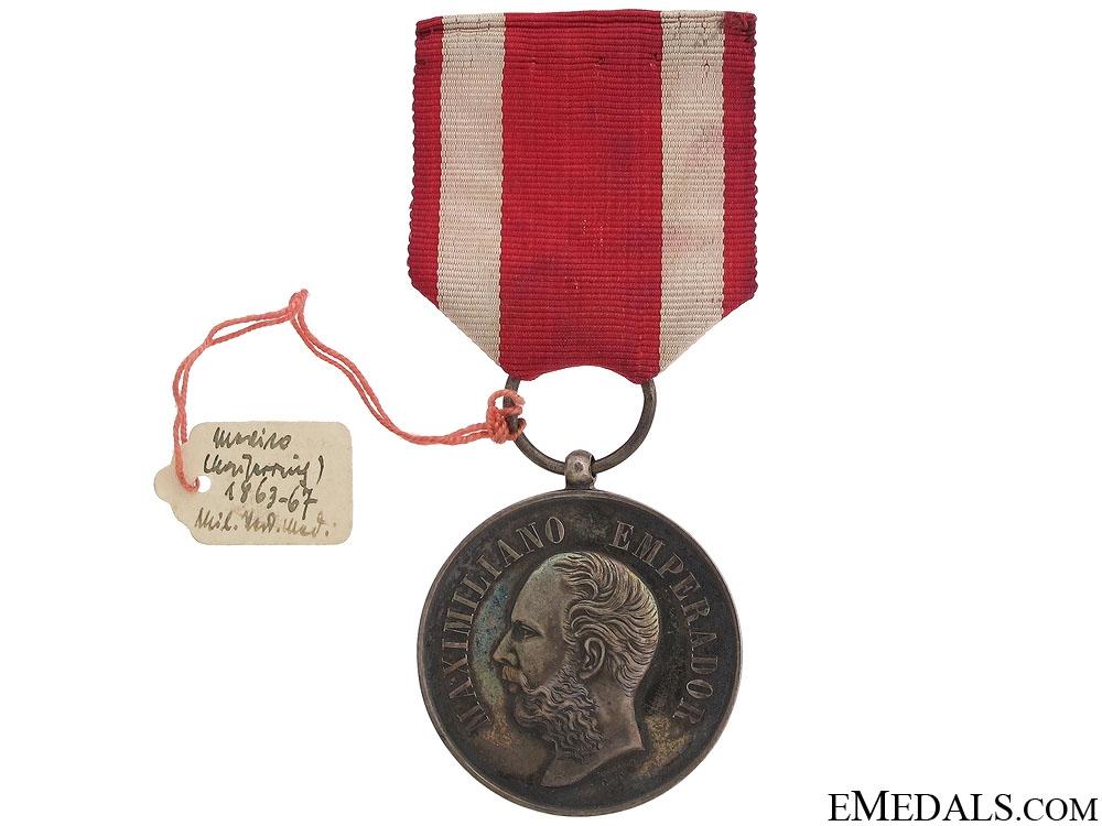 eMedals-Emperor Maximiliano Military Merit Medal (1864-67)