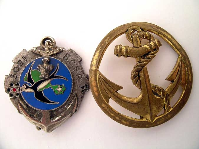 eMedals-TWO NAVAL BADGES
