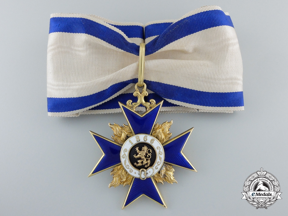 eMedals-A Bavarian Order of Military Merit Second Class (1905-1918) in Gold