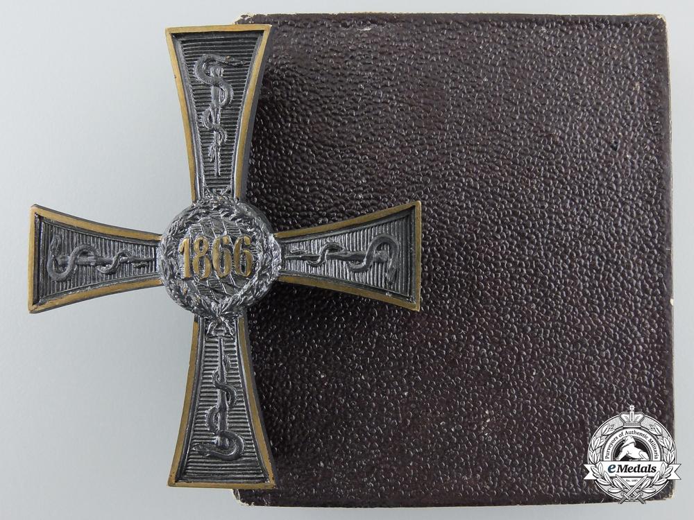 eMedals-A Bavarian 1866 Commemorative Cross for Civil Medics