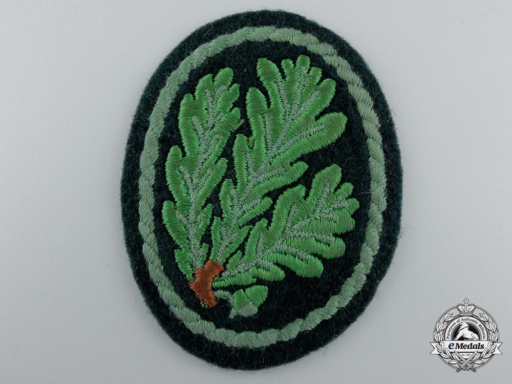eMedals-A Second War German Jager Regiment Cloth Patch
