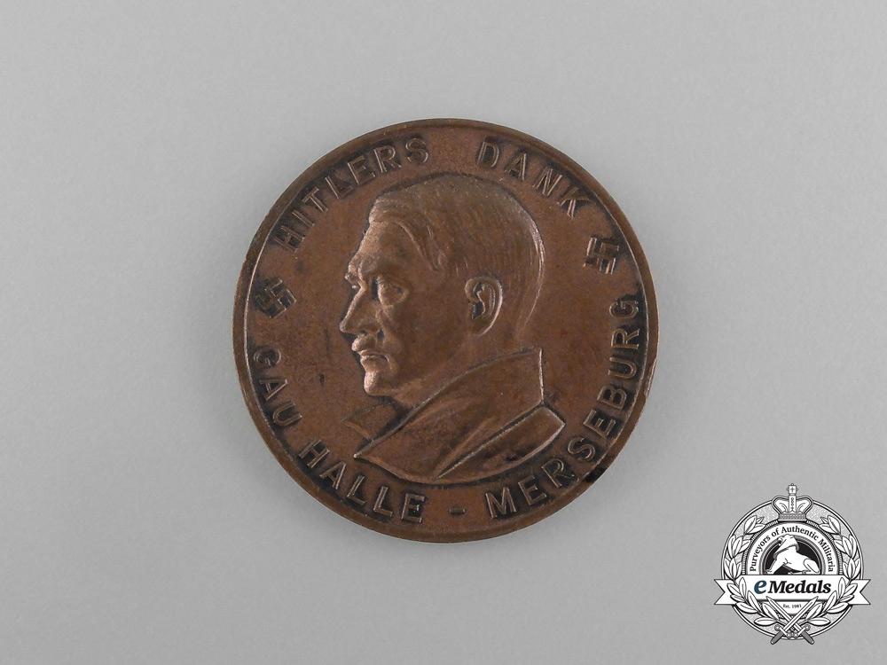 eMedals-AH Medal & GAU Halle 1934