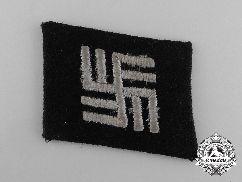 eMedals-Concentration Camp SS Personnel Collar Tab