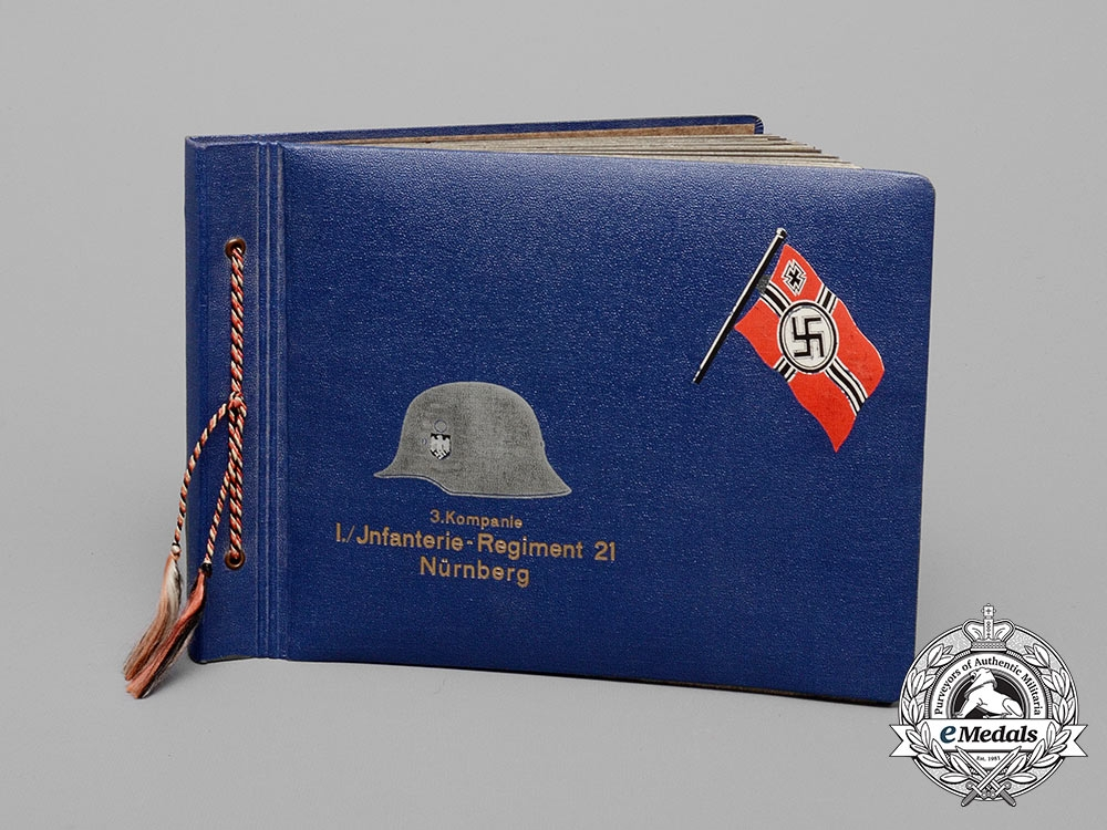 eMedals-An Early War 3rd Company 21st Infantry Regiment Photo Album