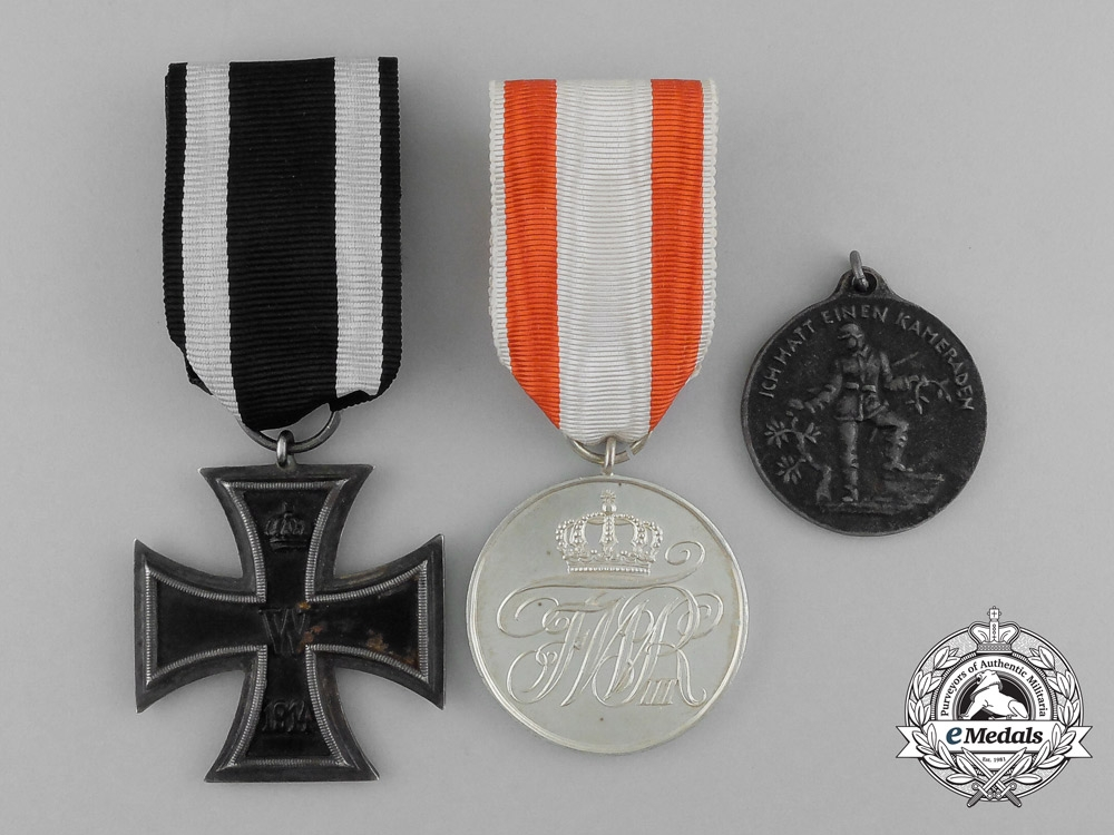 three first war german medals awards and decorations