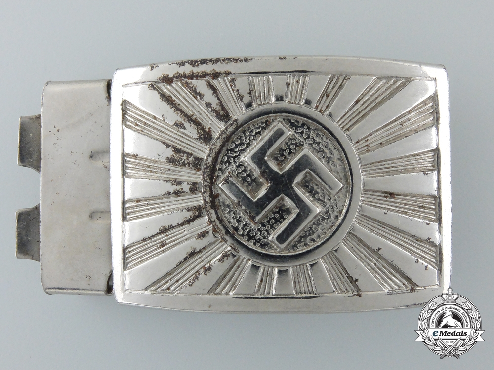 eMedals-An NSDAP Youth (NSDAP Jugend) Buckle; Published Example