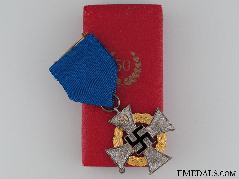 eMedals-Faithful Service Decoration - 50 Year