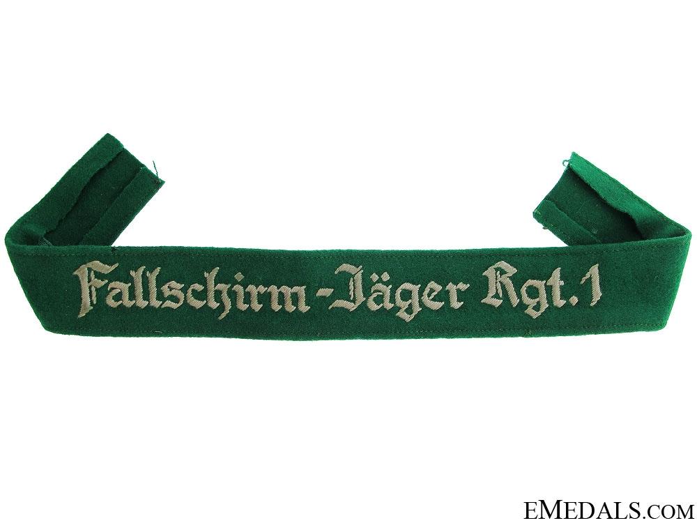 eMedals-Fallschirm-Jäger Rgt.1 Cufftitle