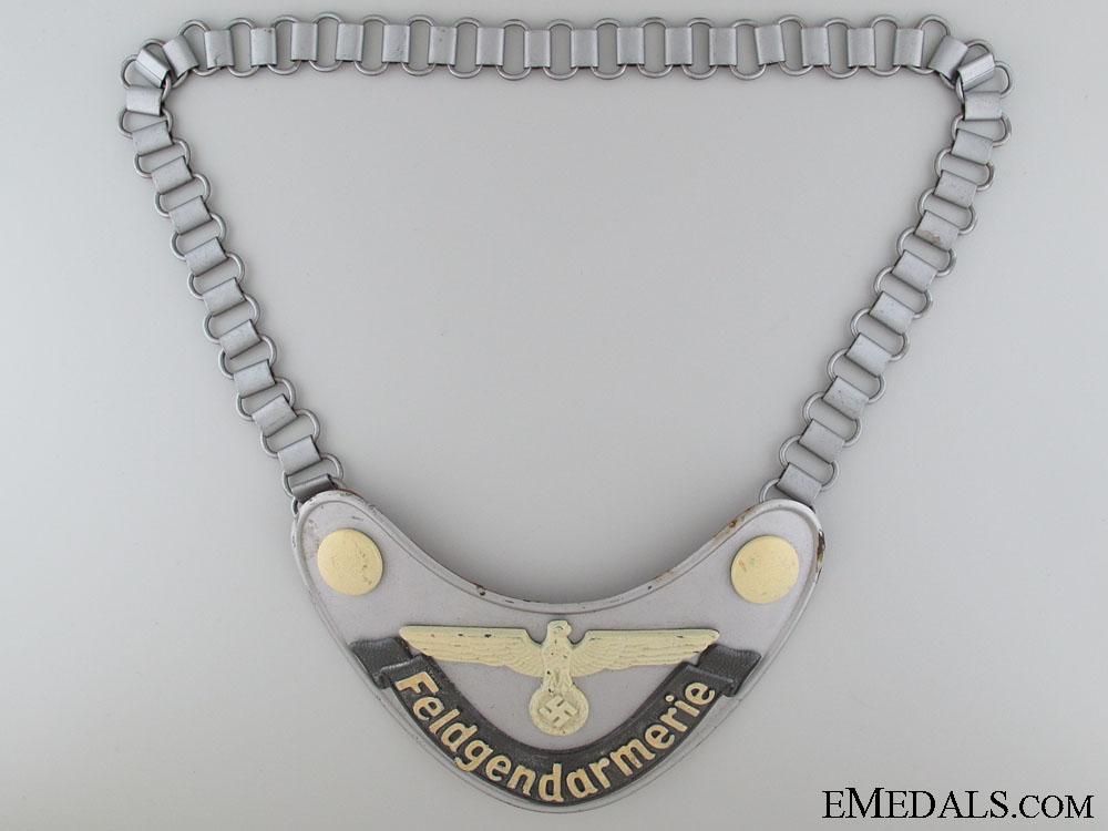 eMedals-Feldgendarmerie (Army Military Field Police) Gorget
