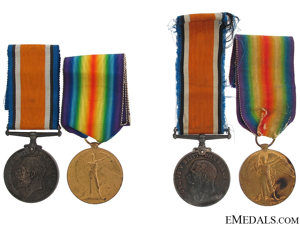 eMedals-First War Medals of Charles & William Knight