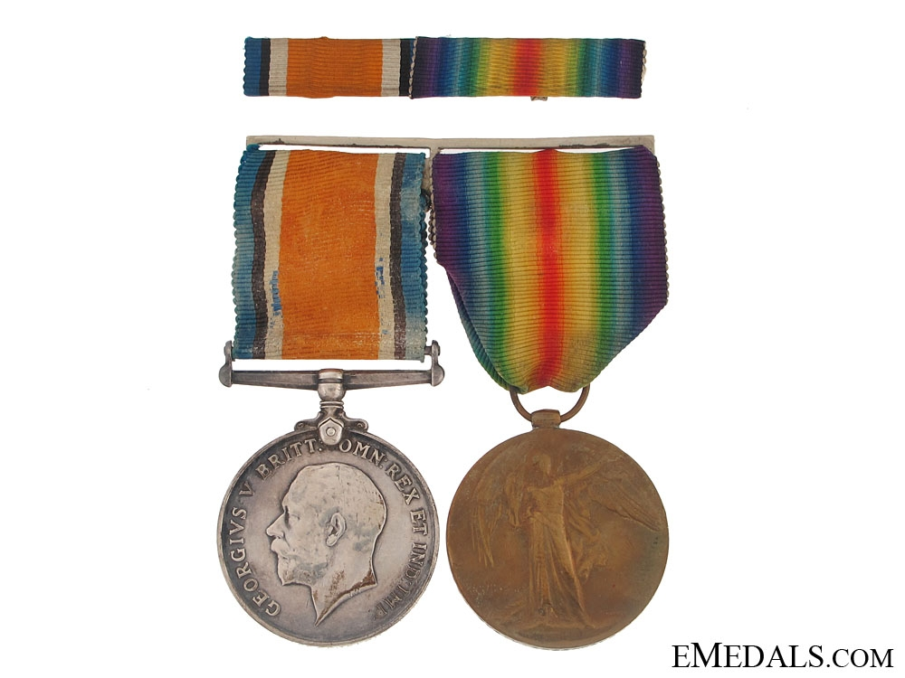 eMedals-First War Pair to the Lancashire Regiment