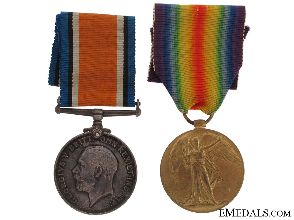 eMedals-First War Pair to the Canadian Garrison Artillery