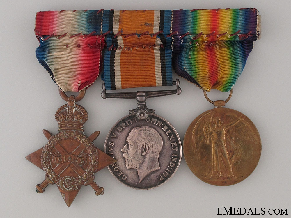 eMedals-Frist War Trio to the Yorkshire Regiment