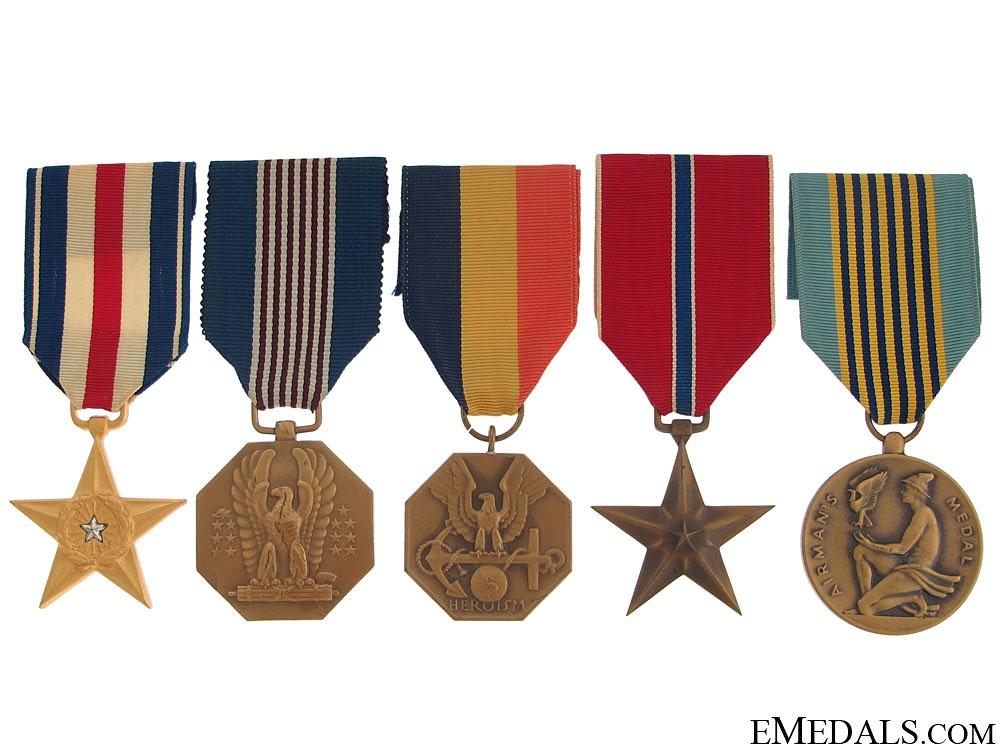 eMedals-Five American Medals