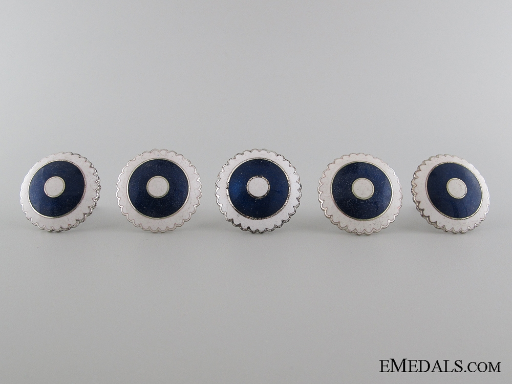 eMedals-Five Finnish Cap Badges, c. 1941