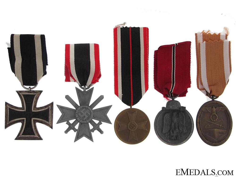 eMedals-Five German Medals