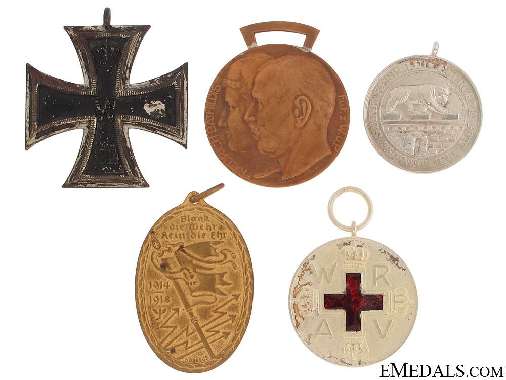 eMedals-Five Imperial German Medals