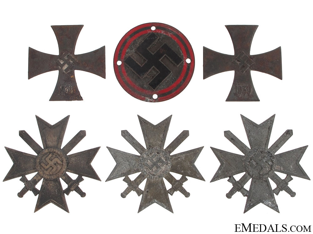 eMedals-Five Items from the Zimmermann Factory