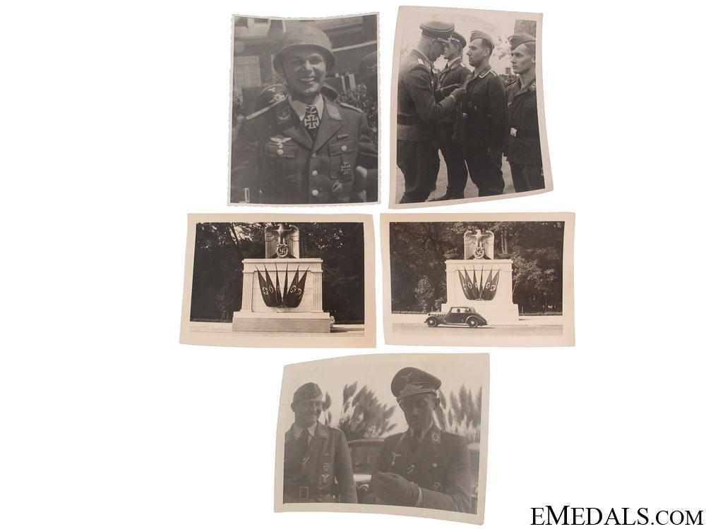 eMedals-Five Original Second War Photographs