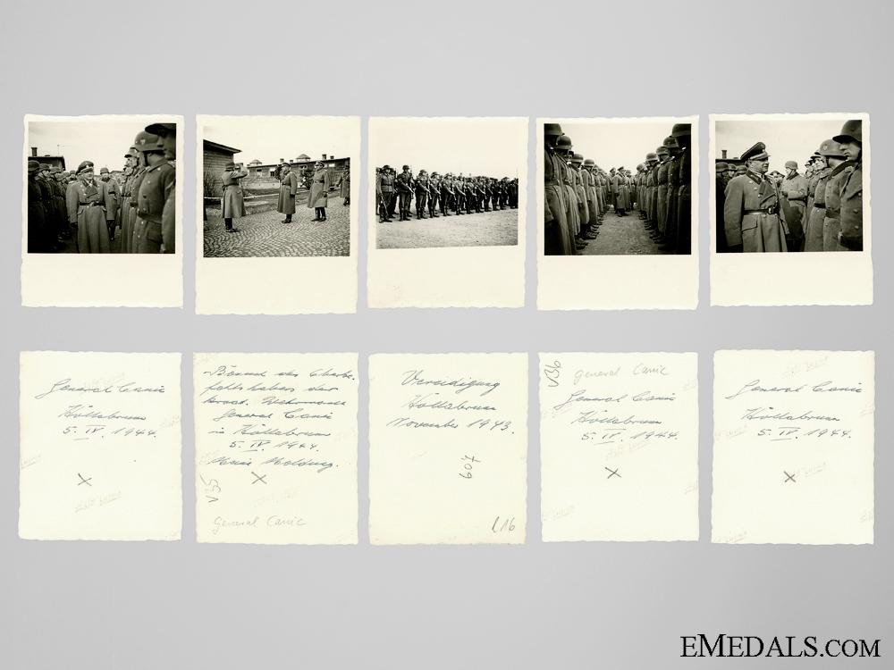 eMedals-Five Private Photos of General Matija Čanić