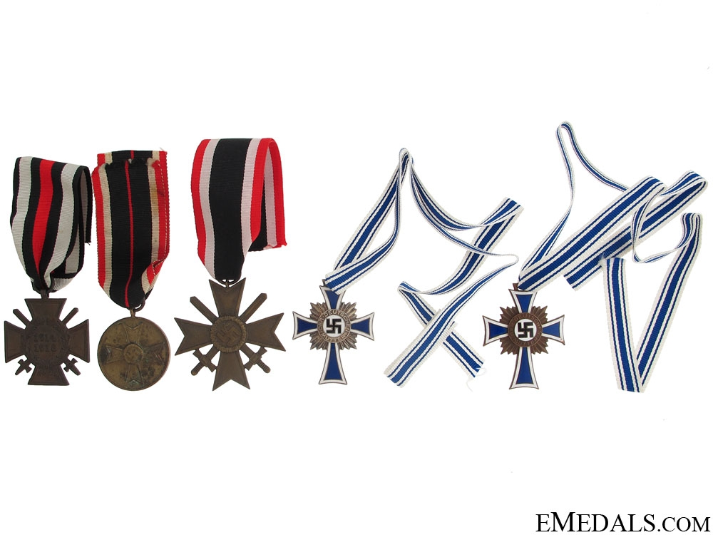 eMedals-Five Third Reich Awards