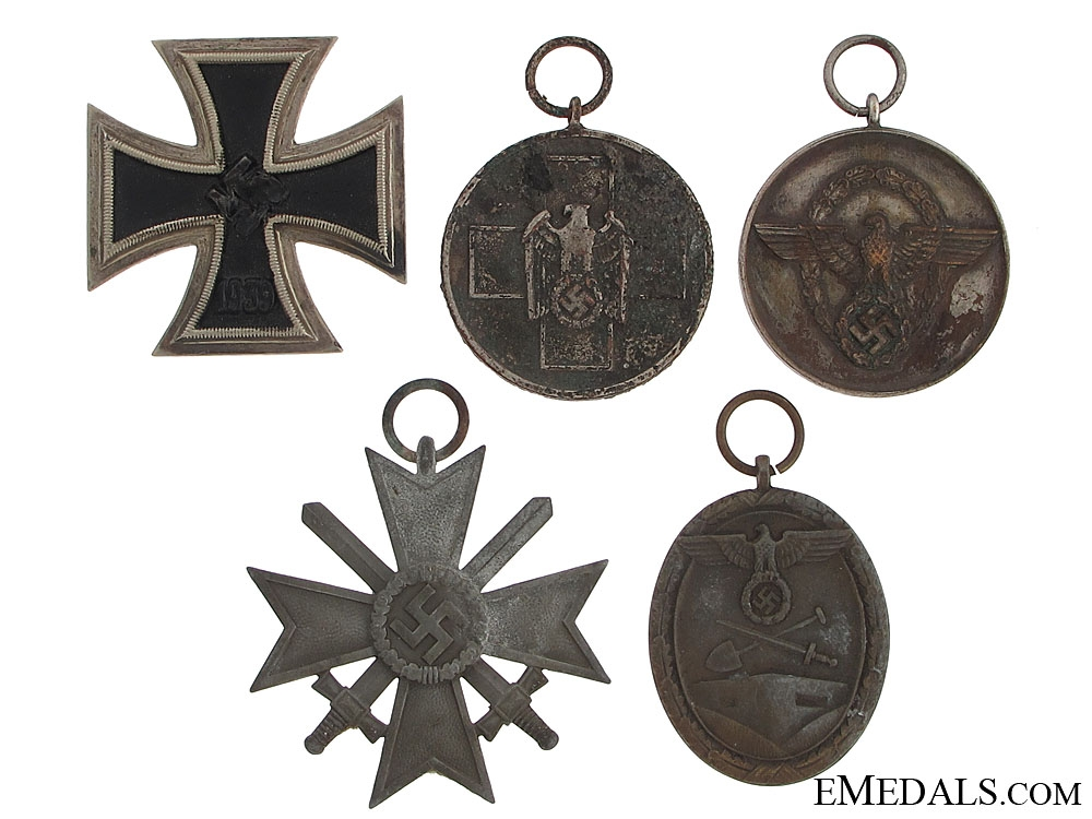 eMedals-Five WWII German Medals