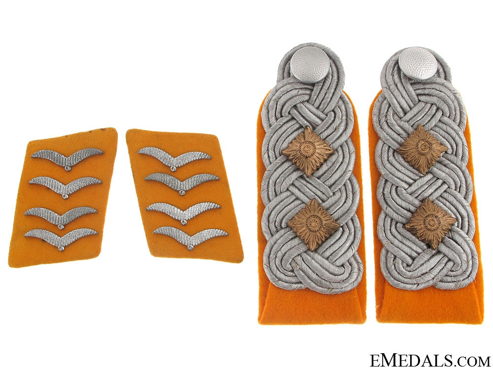 eMedals-Flight Oberst Collar Tabs & Shoulder Boards
