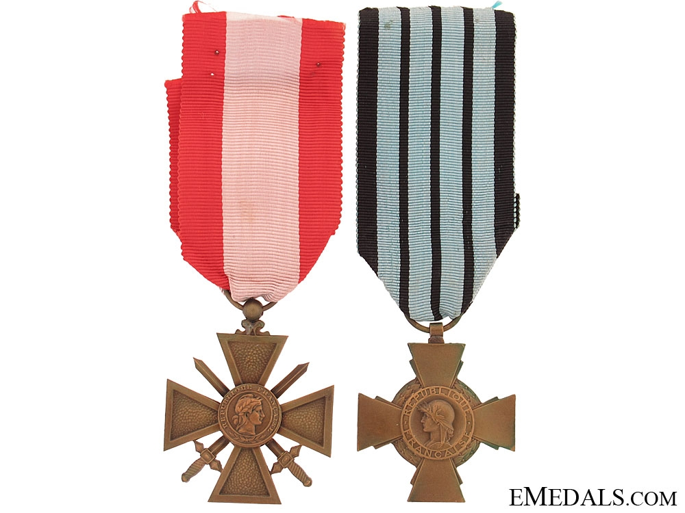 eMedals-Two French Medals