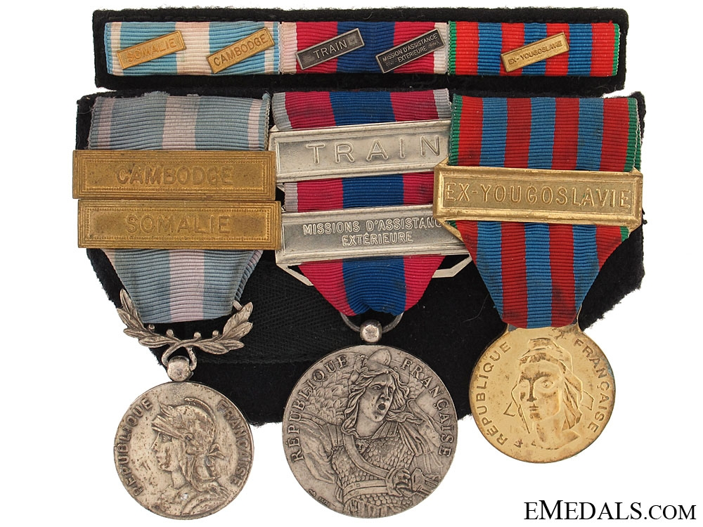 eMedals-A French Group of Three