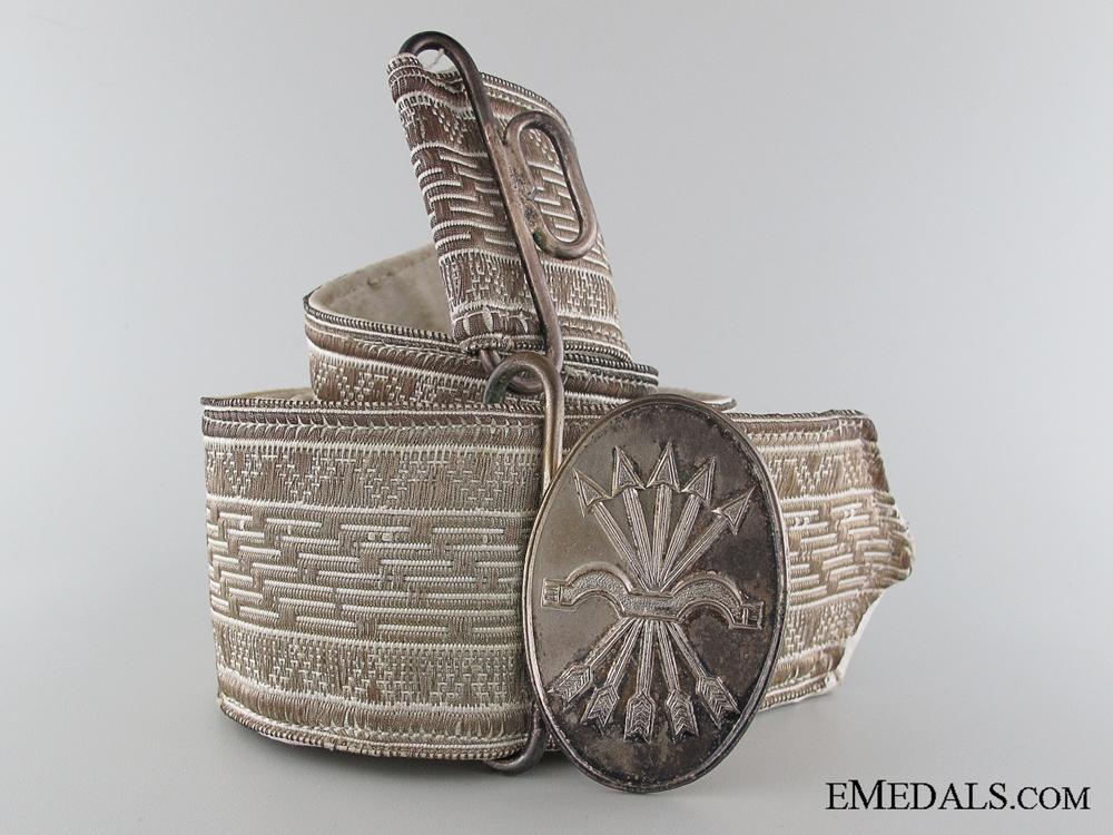 eMedals-Formal Falange Belt with Buckle