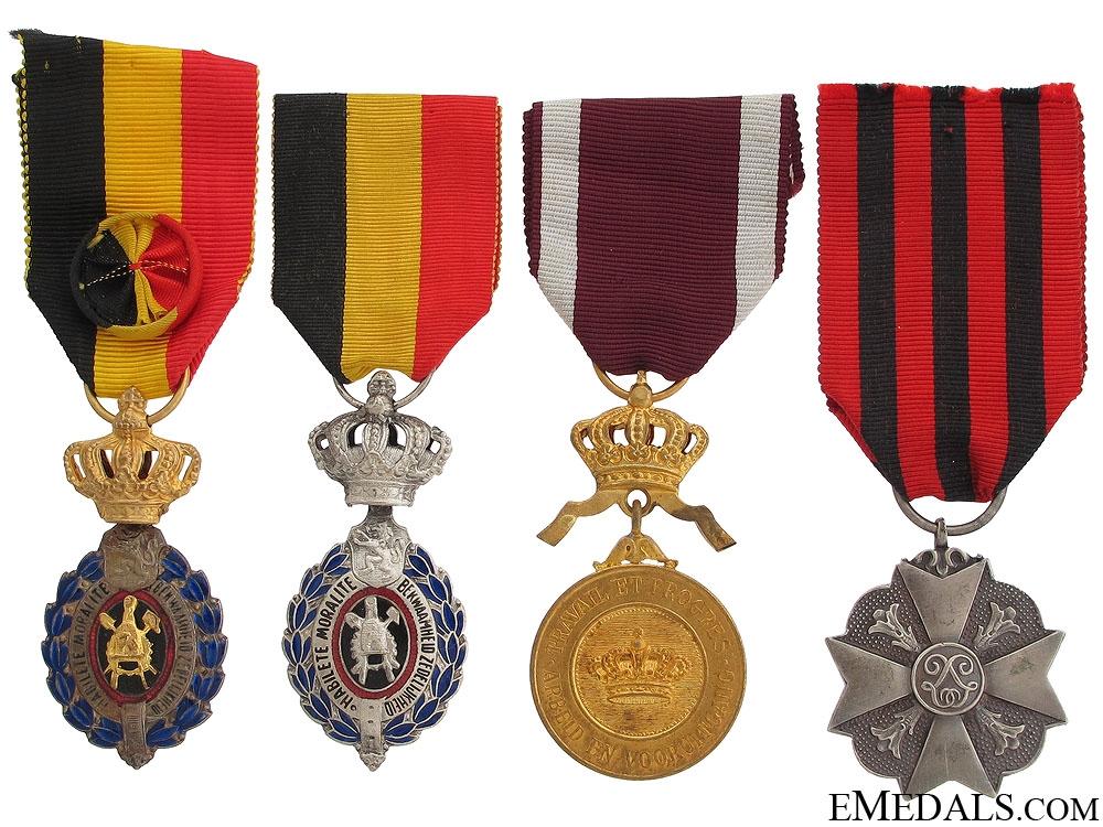 eMedals-Four Belgian Awards