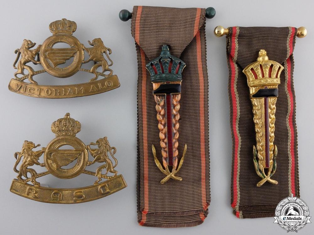 eMedals-Four Belgian Insignia