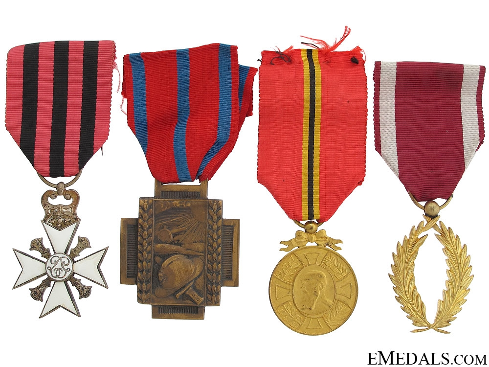eMedals-Four Belgian Medals