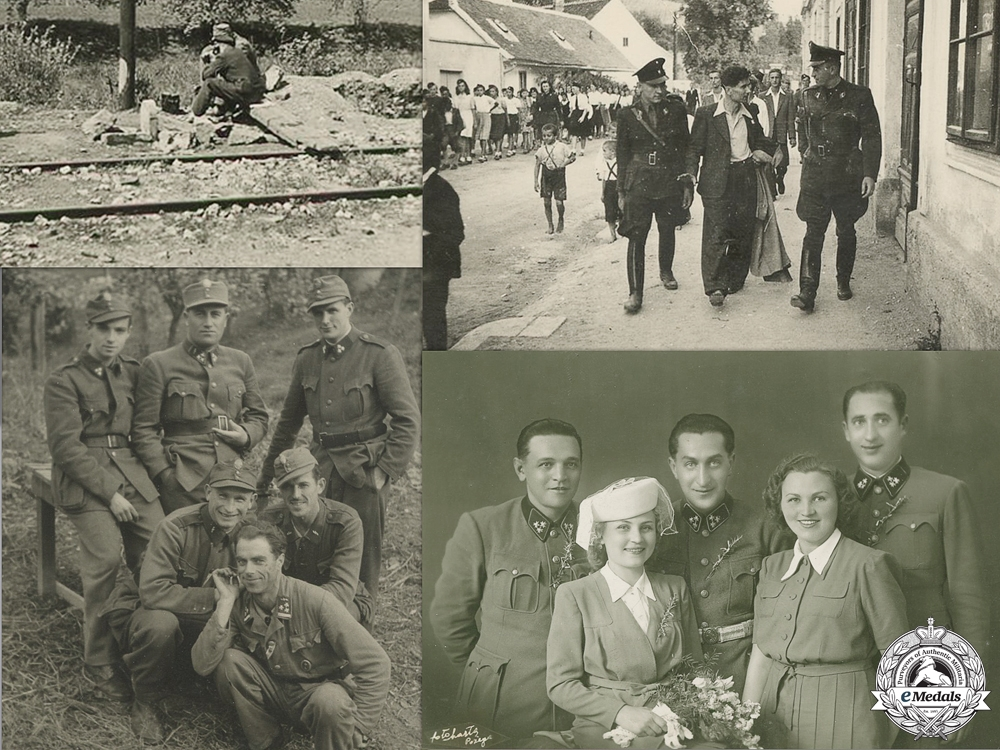 eMedals-Four Croatian Second War Photos