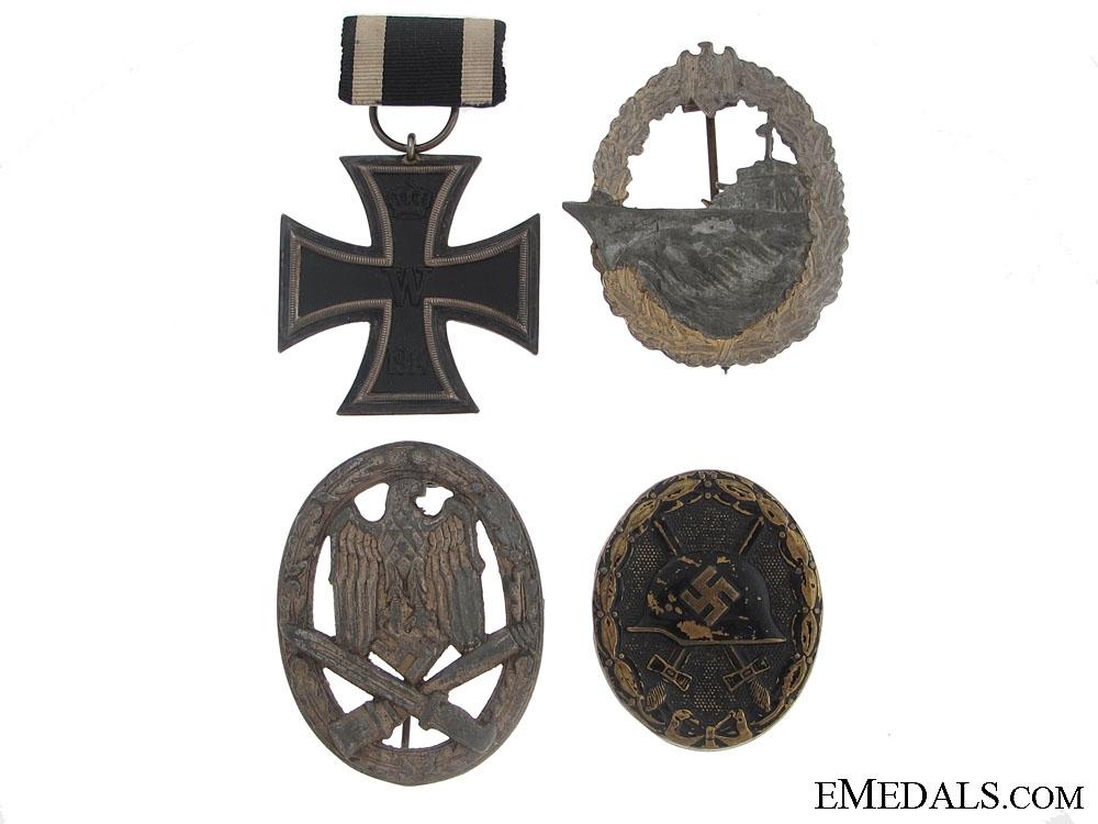 eMedals-Four German Awards