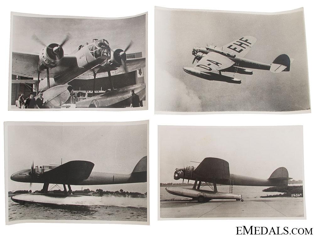 eMedals-Four Heinkel He 115 Torpedo Bomber Photographs