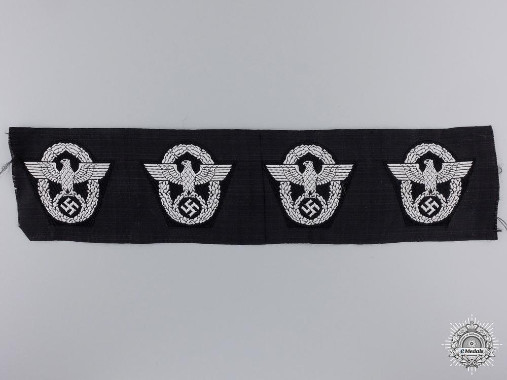 eMedals-Four M43 Police Overseas Cap Insignia