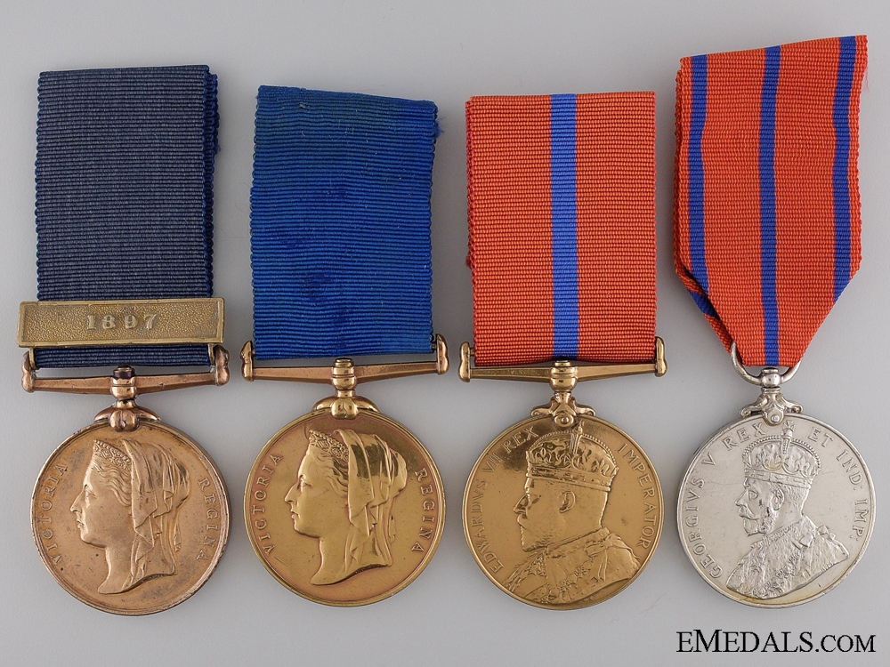 eMedals-Four Metropolitan Police Coronation & Jubilee Medals