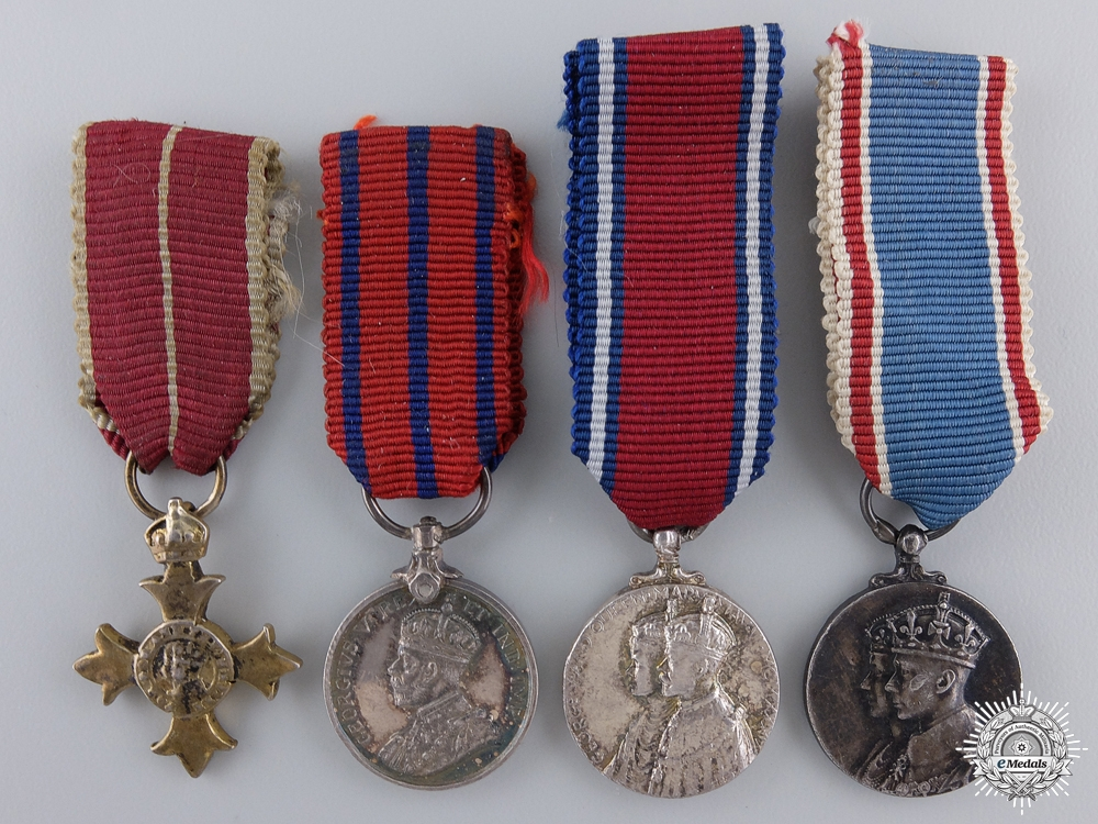 eMedals-Four Miniature British Orders and Medals