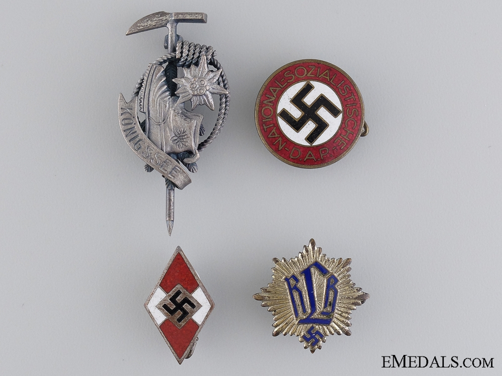 eMedals-Four Second War Period German Badges