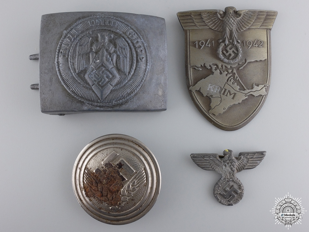 eMedals-Four Second War German Awards, Badges, and Insignia