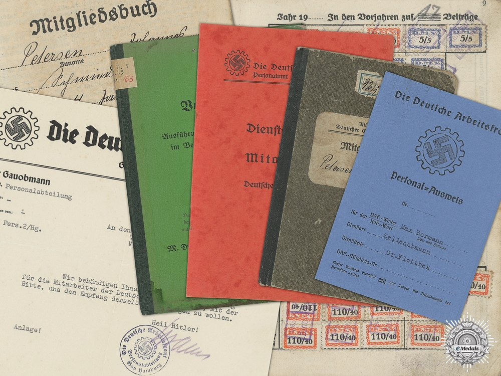 eMedals-Four Second War Period German Documents
