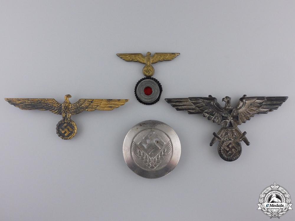 eMedals-Four Second War German Badges & Insignia