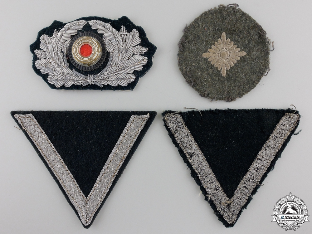 eMedals-Four Second War Army (Heer) Insignia