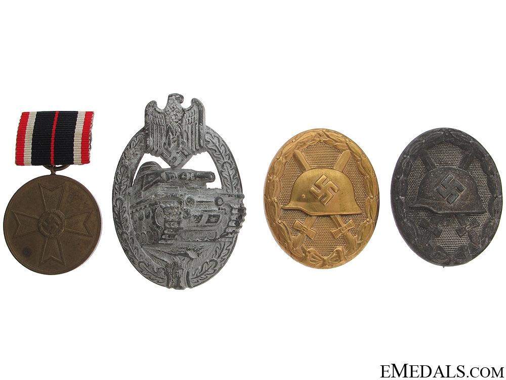 eMedals-Four Third Reich Awards