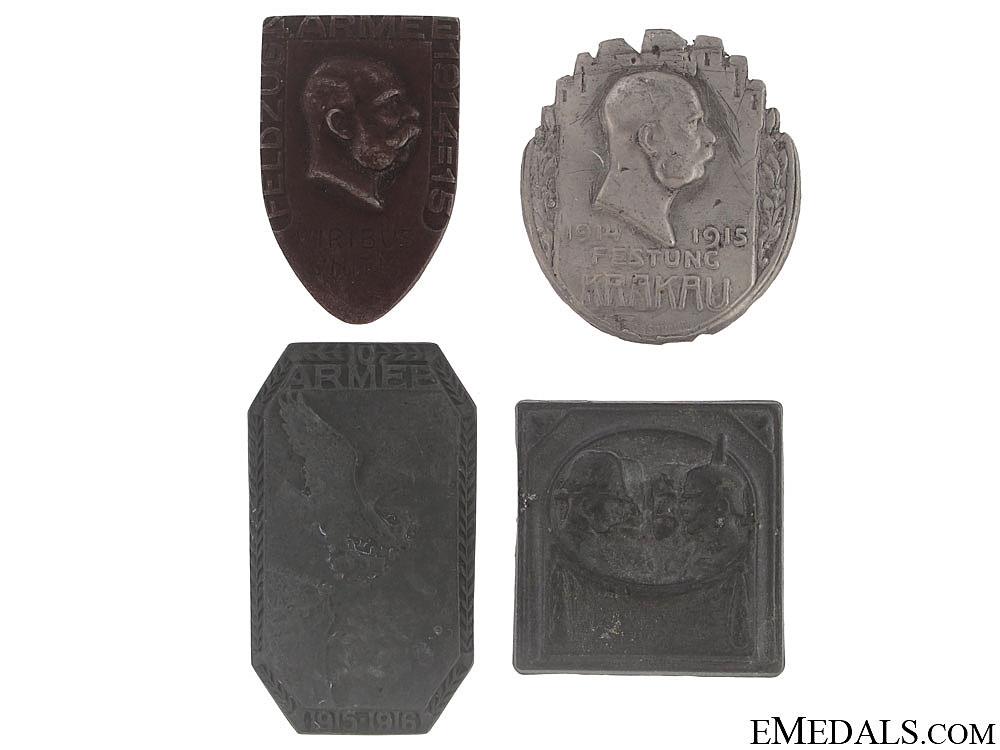 eMedals-Four WWI Austrian Badges